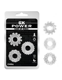Kit 3 Anillos Pene Gear Up...
