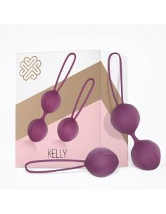 Kelly Bolas Kegel Silicona...